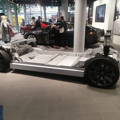 Battery in Chassis